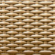 beige synthetic rattan