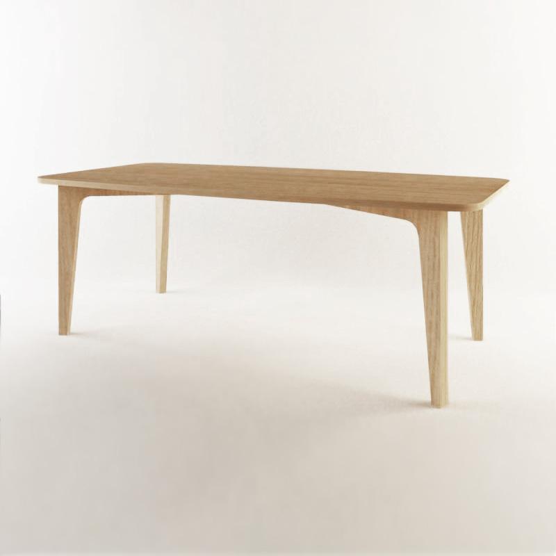 Kurve Dining Table